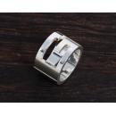 グッチ GUCCI Gリング【指輪】 スターリングシルバー 032666
