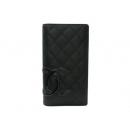 シャネル カンボンライン 手帳カバー(ブラック)A40115Y03880-90303