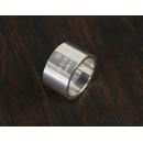 グッチ GUCCI トレードマーク リング(指輪) スターリングシルバー 163197