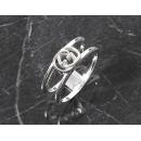 グッチ GUCCI ダブルG リング【指輪】 スターリングシルバー 298036