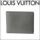 ルイヴィトン 2つ折り財布 M32809 財布 タイガ TAIGA ポルトフォイユ ミュルティプレ メンズ