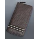 Gucci グッチのラウンドファスナー グッチシマ グッチの長財布 メンズ 308009