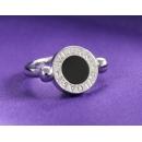 ブルガリ ビーゼロワン ダイヤモンド チャームリング ホワイトゴールド AN853879