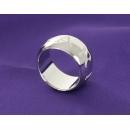 ブルガリ モノロゴ リング(指輪) ホワイトゴールド AN854491