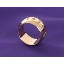 ブルガリ ニューパレンテシ オープンワーク ラージバンド リング(指輪) ホワイトゴールド AN853974