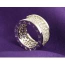 ブルガリ ビーゼロワン パヴェダイヤ リング(指輪) ホワイトゴールド AN855552