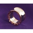 ブルガリ アニッシュカプーア ビーゼロワン リング(指輪) ピンクゴールド&シルバーAN855685