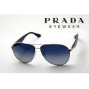 【PRADA】 プラダ サングラス PR53QS 1BC8Z1 ティアドロップ メンズ