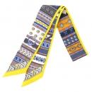 エルメス スカーフ ツイリー シルクツイル Colliers de Chiens コリエ ド シアン HERMES シルクスカーフRL20