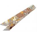 エルメス スカーフ ツイリー Fleurs et Papillons de Tissus 花咲く織物 HERMES シルクスカーフSA08
