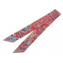 エルメス スカーフ ツイリー シルクツイル 花咲く鳥たちの国で Au Pays des Oiseaux Fleurs コレクション HERMES シルクスカーフ