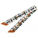 エルメス スカーフ ツイリー シルクツイル Bolduc au Carre ボルデュック チェック HERMES シルクスカーフ