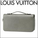ルイヴィトン 長財布(ラウンドファスナー) M42856 タイガ TAIGA ジッピーXL メンズ