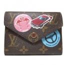 ルイヴィトンM62151 モノグラム ポルトフォイユヴィクトリーヌ 三つ折り財布