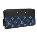 ルイヴィトン/Louis Vuitton/モノグラムカラー/ジッピーウォレット ブルー M67235