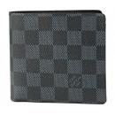ルイヴィトン 2つ折り財布 N63213 ダミエコバルト DAMIER COBALT ポルトフォイユ マルコ メンズ