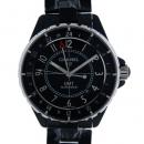 シャネル CHANEL J12 GMT H3101 42mm ブラック