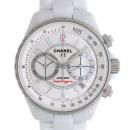 シャネル CHANEL J12 スーパーレッジェーラ H3410 41mm ホワイトセラミック クロノグラフ メンズ