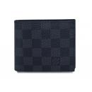 ルイヴィトン N63336 二つ折り 小銭付き財布 メンズ ダミエグラフィット ポルトフォイユ マルコ