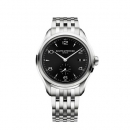 ボーム&メルシエ  腕時計 クリフトン M0A10100 オートマティック  ブラック×シルバー