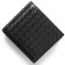 ボッテガヴェネタ 二つ折財布【札入れ】 イントレチャート 【INTRECCIATO】 ブラック 113993 V4651 1000 メンズ