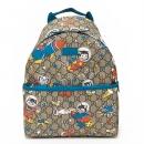 グッチ GUCCI Children's チルドレンズ リュックサック GG space cats backpack GG Supreme/Blue ベージュ/ブルー 271327 9CU4N 9763