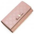 グッチ GUCCI 2つ折り長財布(小銭入れ付き) Bow Gucci Signature Continetal Wallet Light Pink ライトピンク 388679 CWC1G 6812