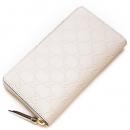 グッチ GUCCI ラウンドファスナー長財布(小銭入れ付き) Gucci Signature Zip Around Wallet Ivory アイボリー 410102 CWC1G 9022