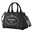 プラダ PRADA トートバッグ カナパ canapa ハンドバッグ 2WAYハンドバッグ ブラック系 1BG439ROO ZKI N12