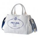 プラダ PRADA トートバッグ カナパ canapa ハンドバッグ 2WAYハンドバッグ ホワイト系 1BG439ROO ZKI UB0