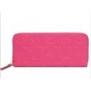ルイヴィトン 財布 モノグラムアンプラント ポルトフォイユ クレマンス ピンク M62535
