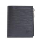 ルイヴィトン 財布 LOUIS VUITTON M64007 エピ ポルトフォイユ スマート/二つ折り財布 黒