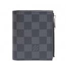 ルイヴィトン  N64021 ダミエグラフィット ポルトフォイユ スマート/コンパクト二つ折り財布
