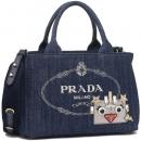 プラダ トートバッグ レディース PRADA 1BG439 2ELY 020 F0008 ブルー