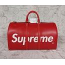 ルイヴィトン  Supreme M53419 キーポル バンドリエール45 ボストンバッグ ルイ ヴィトン×シュプリーム ボストンバッグ エピレザー レッド ユニセックス