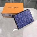 ルイヴィトン 財布 ジッピー コイン パース エピ デニム M61191