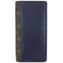 ルイヴィトン 財布 M62911ファスナー長札 メンズ モノグラム エピ  ポルトフォイユ ブラザ