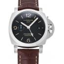 パネライ ルミノール1950 3デイズ GMT アッチャイオ PAM01320 ブラック