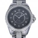シャネル J12 クロマティック ダイヤモンドブレスレット H3106 グレー文字盤 メンズ 腕時計