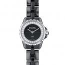 シャネル J12 XS H5235 ブラック文字盤 レディース 腕時計