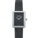 シャネル ボーイフレンド ツイード H5317 ブラック文字盤 レディース 腕時計