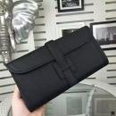 エルメス 財布 ブラック 牛革