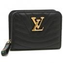 LOUIS VUITTON M63789 ルイヴィトンニューウェーブ ルイヴィトンニューウェーブジプト コンパクトウォレット レディース 二つ折り財布 ノワール 黒