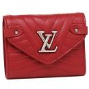 ルイヴィトン M63428 コンパクトウォレット レディース 三つ折り財布 レッド 赤