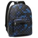 ルイヴィトン バッグ LOUIS VUITTON N40083 ジョッシュピクセルキャンバス ダミエグラフィット メンズ リュック バックパック ブルー 青