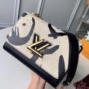 Louis Vuitton カーフレザー ツイスト MM M53232