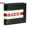 グッチ/GUCCI 財布 メンズ New Web 2つ折り財布 NERO/RED 408826-CWGRN-1094