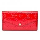 ルイヴィトン 財布 M90208 ヴェルニ ポルトフォイユ サラ