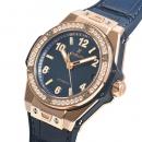 ビッグバン ワンクリック キングゴールド ブルー ダイヤモンド 465.OX.7180.LR.1204