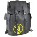 ルイヴィトン エピ M55138 クリストファーPM LVサークル バックパック リュック バッグ